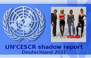 Schattenbericht Sexworker Forum CESCR 2011 PDF. Zum Verteilen!